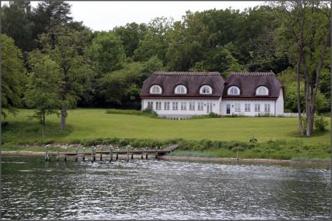 Altes Kapitänshaus am Svendborg Sund
